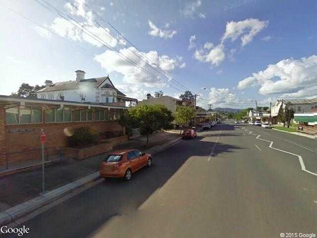 Google Street View DungogGoogle Maps AU