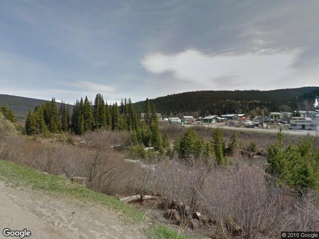Street View image from Wells, British Columbia