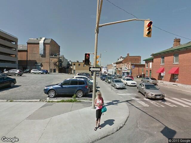 Google Street View Kingston.Google Maps Canada.