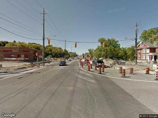 Google Street View NewmarketGoogle Maps Canada