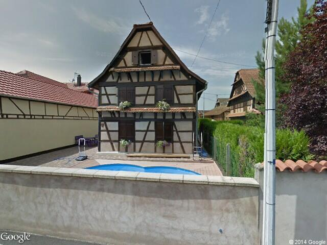 Google street view hipsheim google maps for Chaise dieu du theil