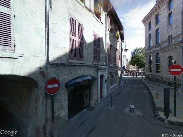 Google Street View ValenceGoogle Maps