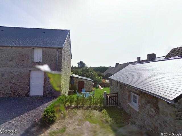 Google Street View Le Mesnil-au-Val.Google Maps.