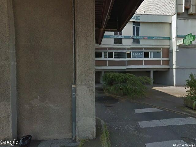 Google Street View Vandœuvre-lès-Nancy.Google Maps.