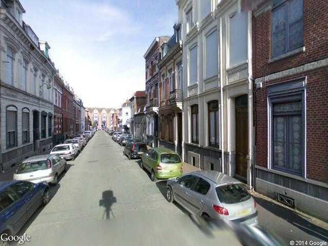 google street view tourcoing google maps. Black Bedroom Furniture Sets. Home Design Ideas