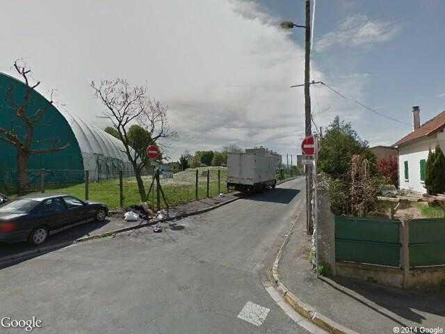 google street view champigny sur marne google maps. Black Bedroom Furniture Sets. Home Design Ideas