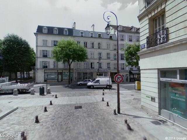 google street view charenton le pont google maps. Black Bedroom Furniture Sets. Home Design Ideas