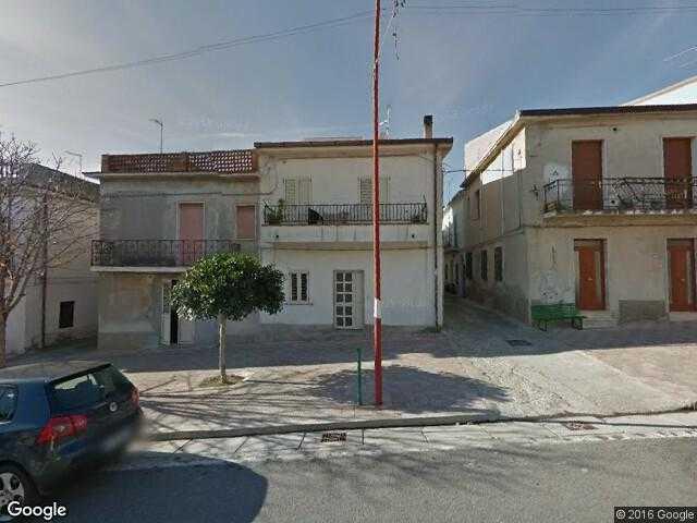 Google Street View Amendolara Google Maps Italy