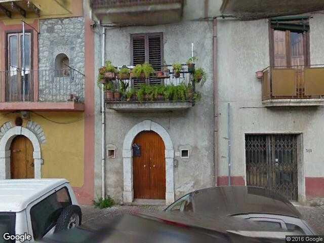 Google Street View Guardia Sanframondi Google Maps Italy