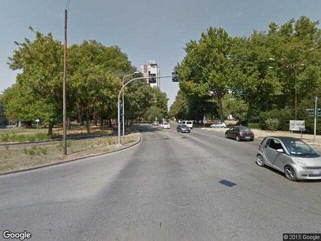 Google Street View FerraraGoogle Maps Italy