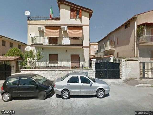 Google Street View Bagni di Tivoli.Google Maps Italy.