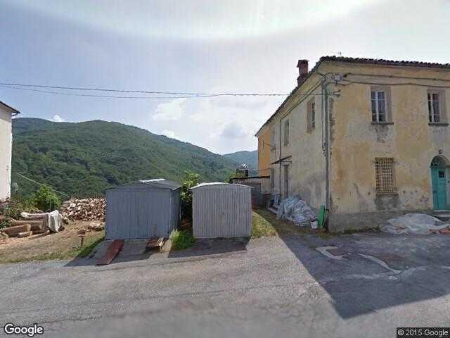 Google Street View Bormida.Google Maps Italy.