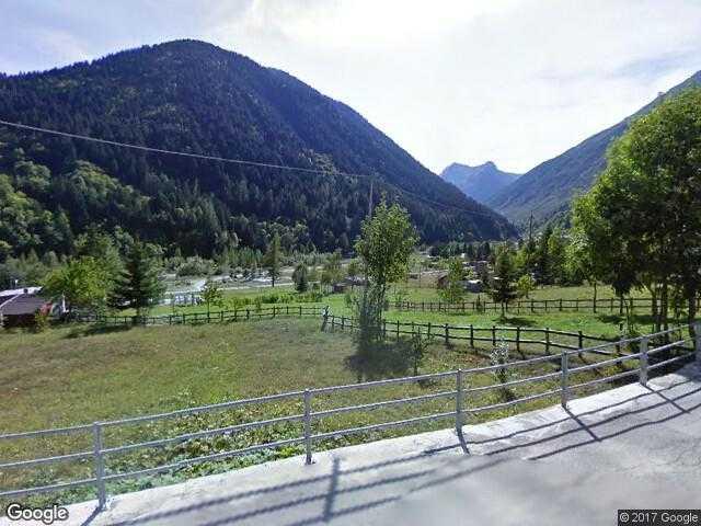 Google Street View Bagni di Vinadio.Google Maps Italy.