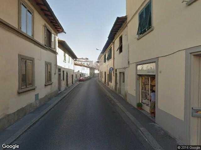Google Street View Rifredi Google Maps Italy