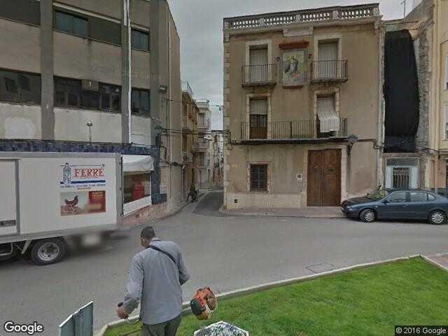 Alcanar Spain Map.Google Street View Alcanar Google Maps Spain
