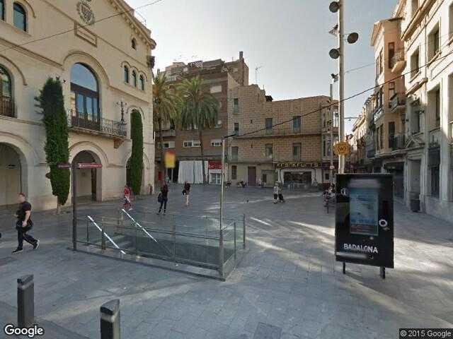 Image of Badalona, Barcelona, Catalonia, Spain