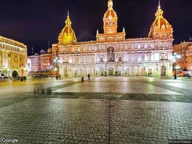 Image of A Coruña, A Coruña, Galicia, Spain