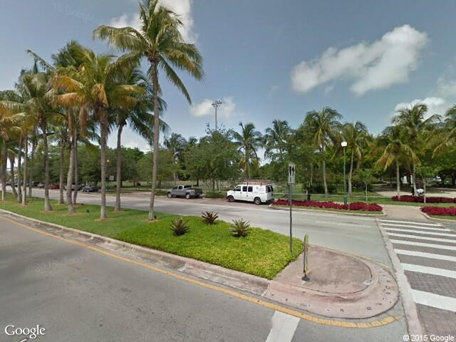 Google Street View Key BiscayneGoogle Maps