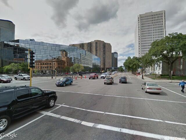 Google Street View Minneapolis.Google Maps.