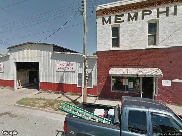 Google Street View Memphis.Google Maps.