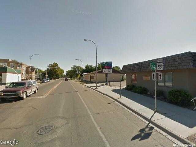 Google street view miles citygoogle maps image of miles city montana usa publicscrutiny Image collections