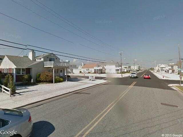 Elevation Of Stone Harbor Nj : Google street view stone harbor maps