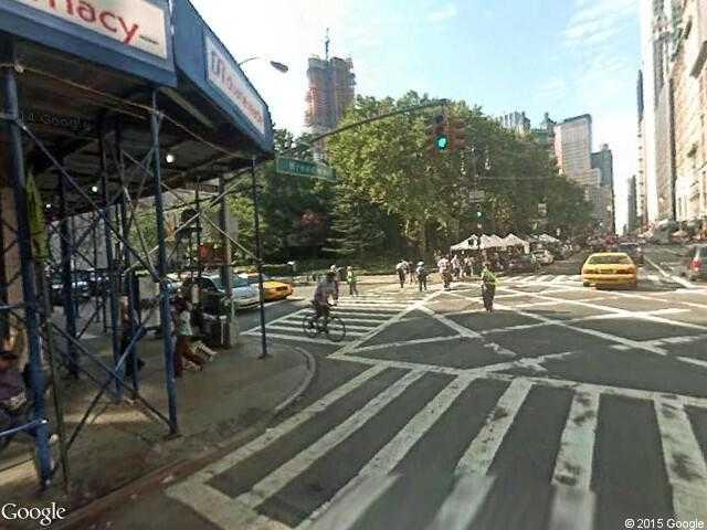 google street view new york