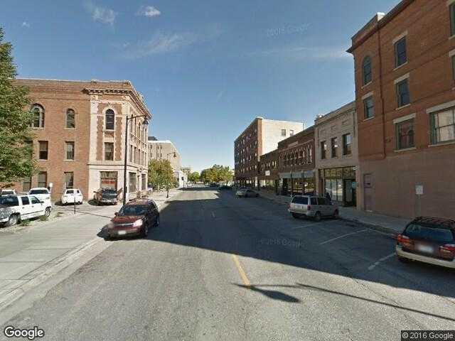 Google Street View Fargo.Google Maps.