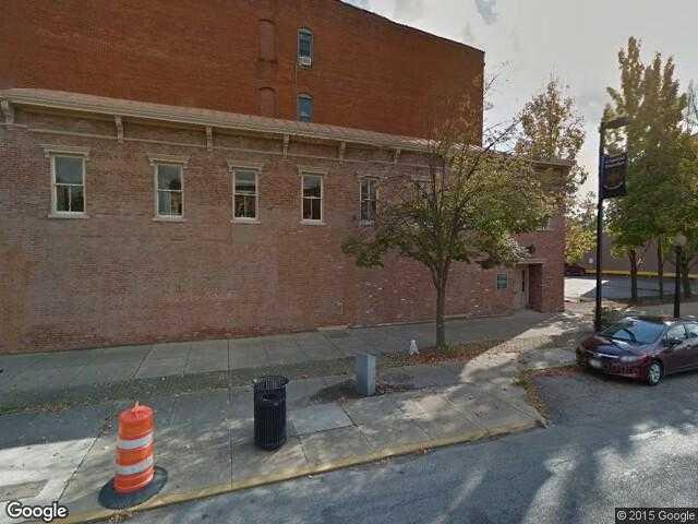 Google Street View Chillicothe.Google Maps.