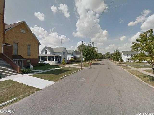 Deshler Ohio Map.Google Street View Deshler Google Maps