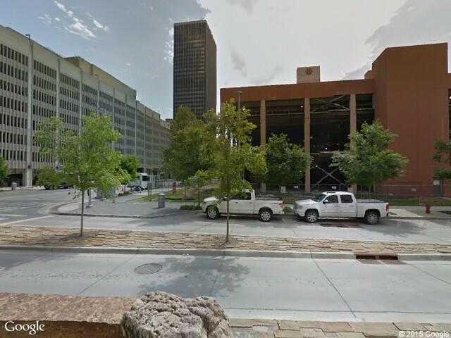 Google Street View Oklahoma City.Google Maps. on