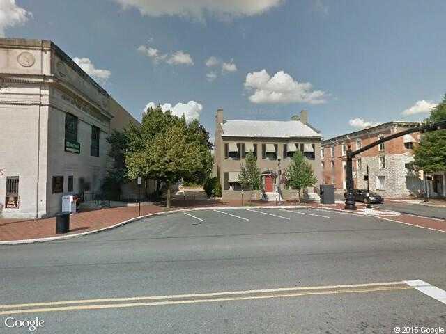 Dodge Columbia Tn >> Google Street View Waynesboro.Google Maps.