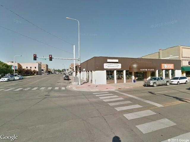 Google Street View Huron.Google Maps.