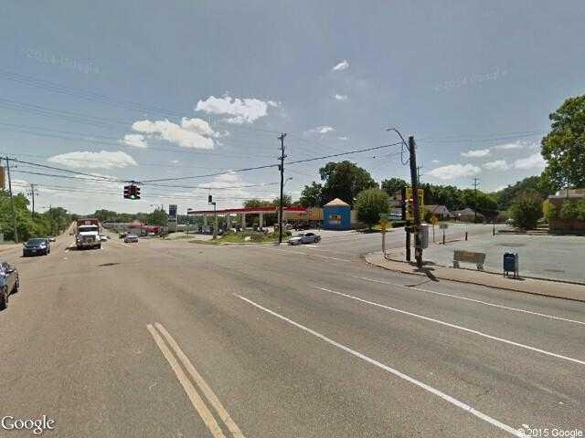 Google Street View New South Memphis.Google Maps.