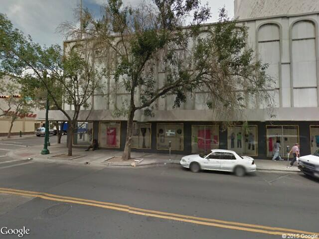 Google Street View El Paso.Google Maps.