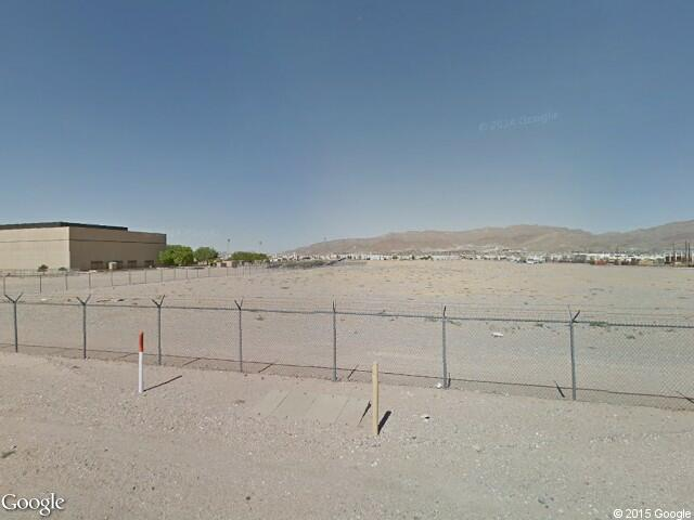Google Street View Fort Bliss.Google Maps.
