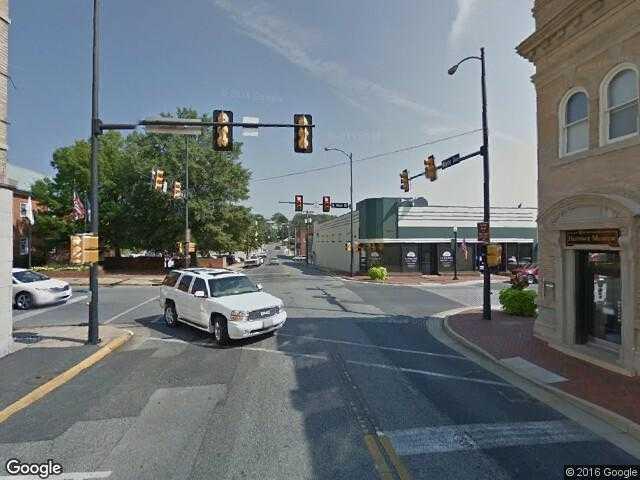 Google Street View WaynesboroGoogle Maps - Google maps virginia usa