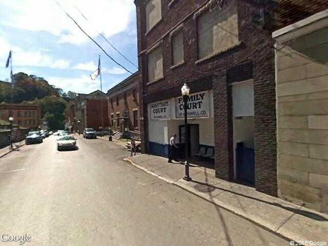 Google Street View WelchGoogle Maps - Google maps virginia usa